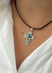 Small-Catholic-Mother-Of-Pearl-Shell-Crucifix-Pendant-Handmade-Cross-Jerusalem-0-4