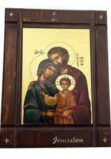 The-Holy-Family-Byzantine-Wood-Icon-Baby-Jesus-Jerusalem-Holy-Land-Certificated-0