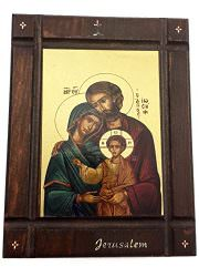 The-Holy-Family-Byzantine-Wood-Icon-Baby-Jesus-Jerusalem-Holy-Land-Certificated-0