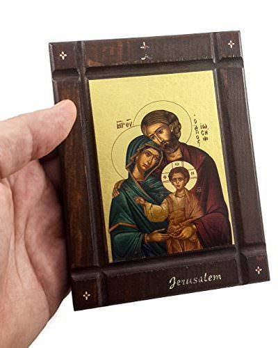 The-Holy-Family-Byzantine-Wood-Icon-Baby-Jesus-Jerusalem-Holy-Land-Certificated-0-2