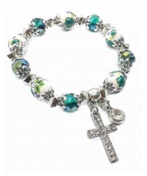 Religious Cross Bracelet
