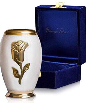 Rose Small Keepsake Cremation Urn